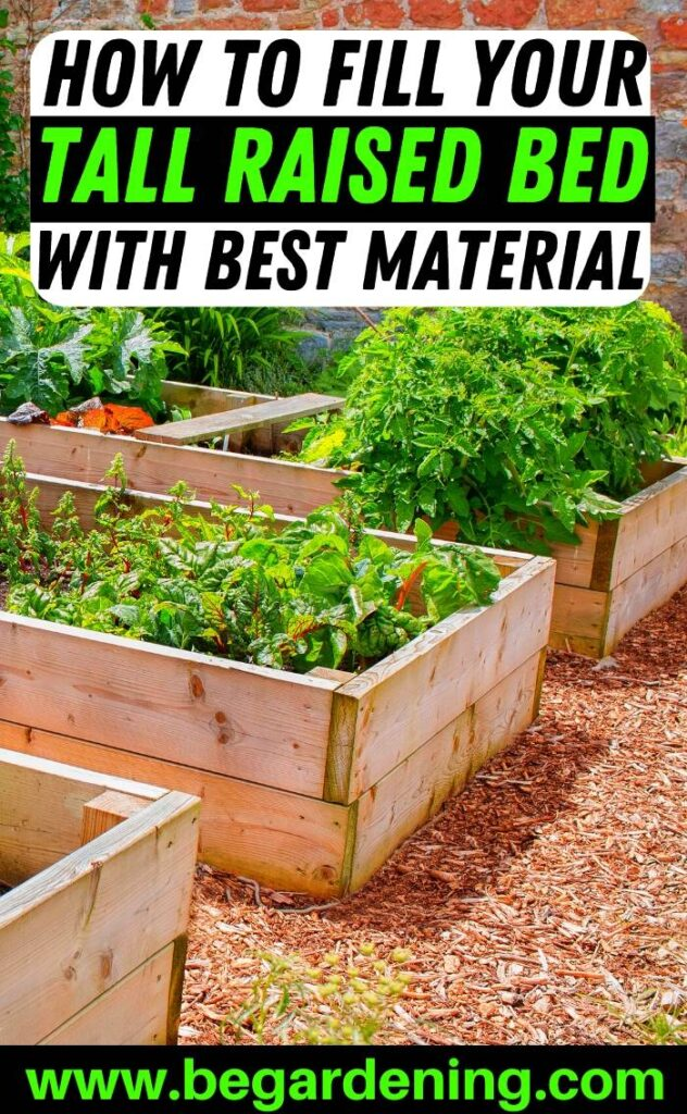 How To Fill Your Tall Raised Beds With Best Material Bed Gardening